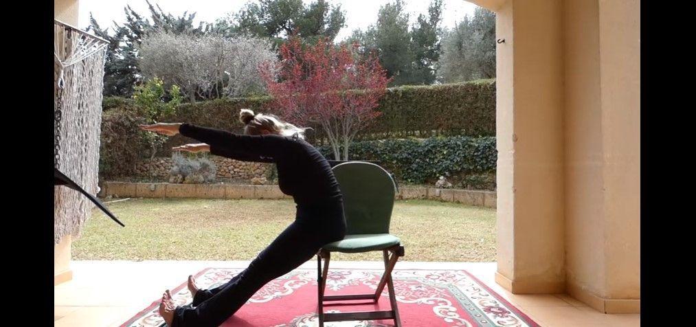 Pilates con silla