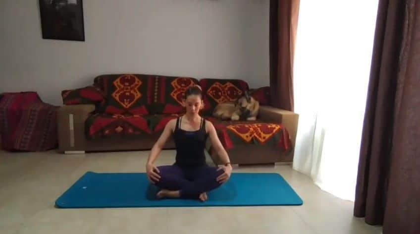 Pilates Movilidad de la columna Laura
