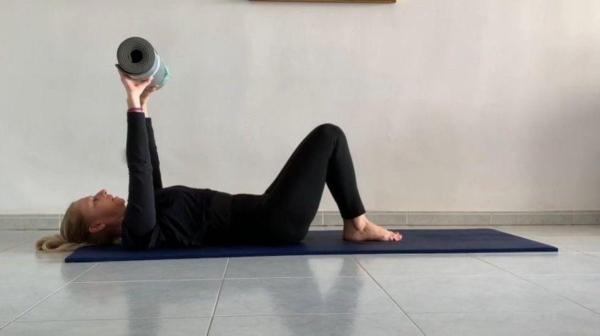 Pilates en Mat progresando niveles Elisa